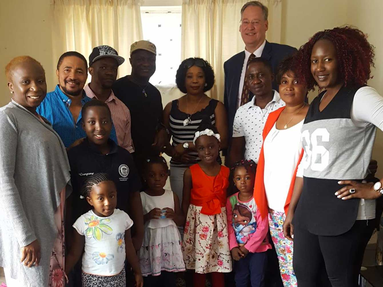 High Sheriff of West Sussex (and now a trustee of Sussex Community Foundation) visited the Sierra Leone Sussex Association
